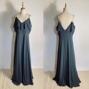 NWT JENNY YOO BHLDN Mila Convertible Dress 18